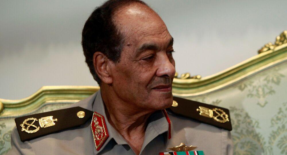 وزير الدفاع المصري الأسبق محمد حسين طنطاوي، القاهرة، مصر 23 يونيو 2021