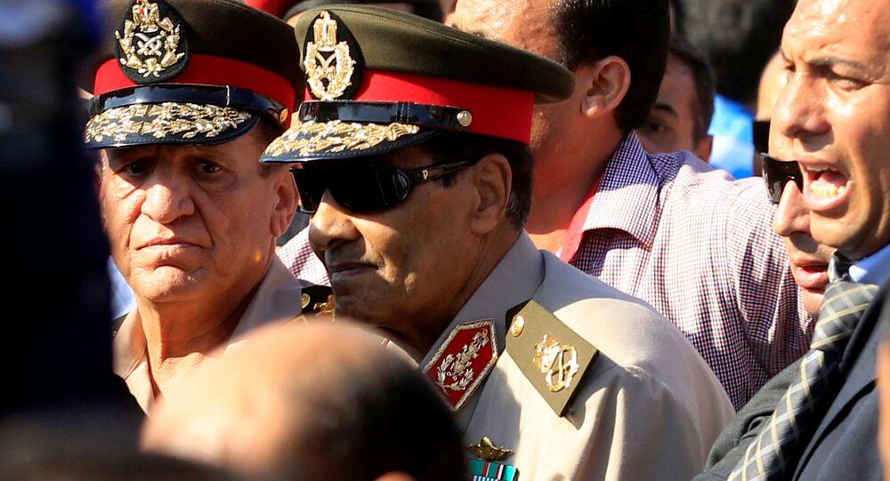 وزير الدفاع المصري الأسبق محمد حسين طنطاوي، القاهرة، مصر 31 يوليو 2021