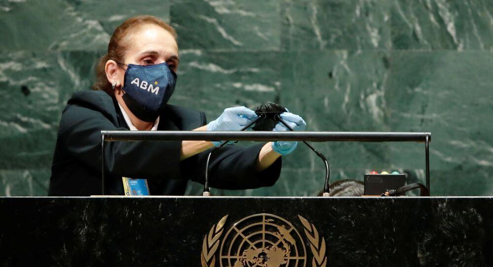 تطهير منبر الجمعية العامة للأمم المتحدة