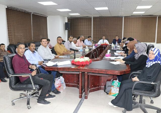 البنك المركزي اليمني يعقد اجتماع مع منظمة التعاون والتنمية الاقتصادية