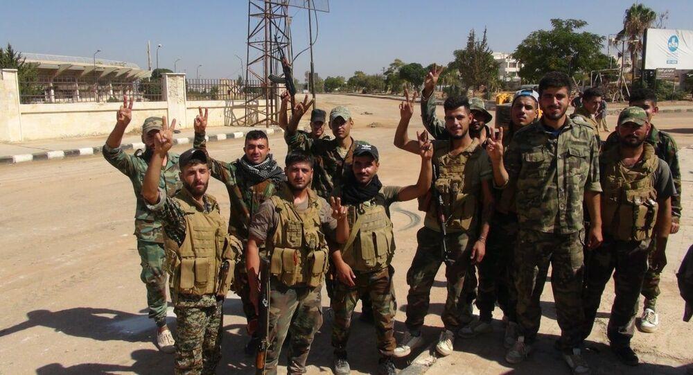 درعا.. الجيش السوري يرفع الحواجز والسواتر إيذانا بانتهاء حقبة التهديدات الأمنية