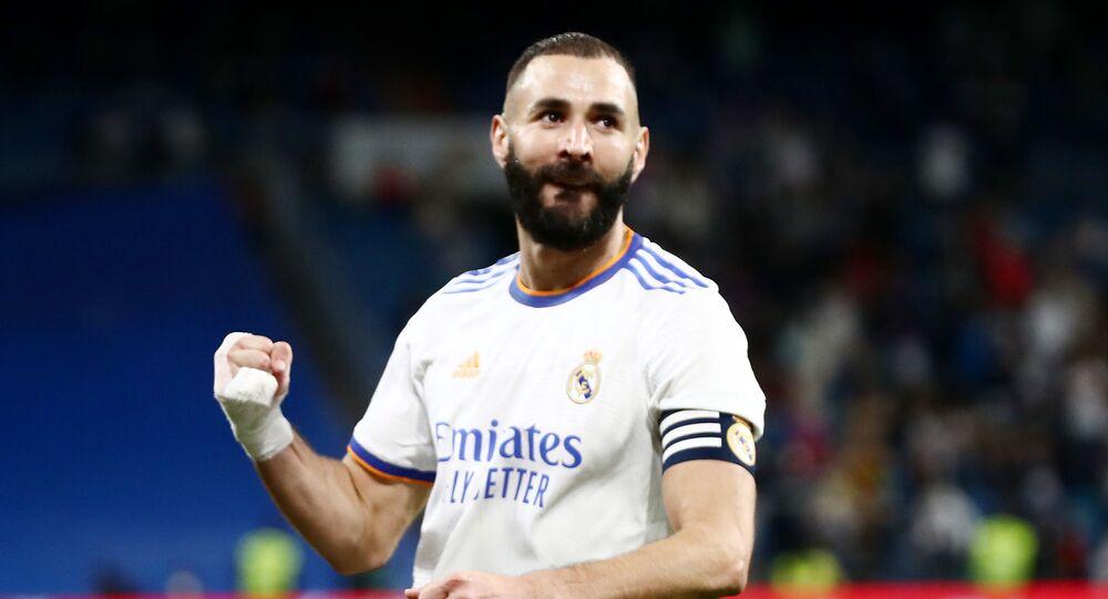 كريم بنزيما لاعب ريال مدريد