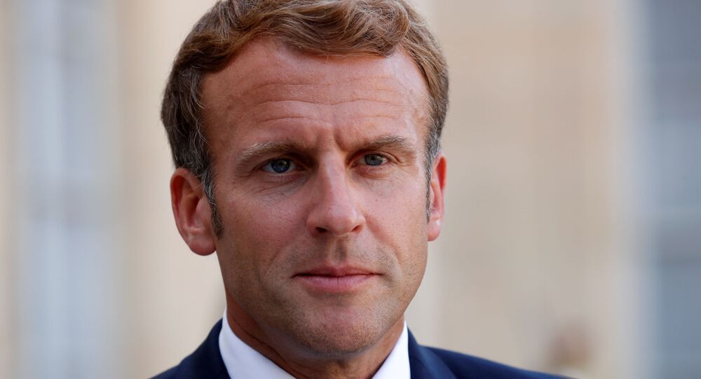 الرئيس الفرنسي إيمانويل ماكرون، باريس، فرنسا 6 سبتمبر 2021