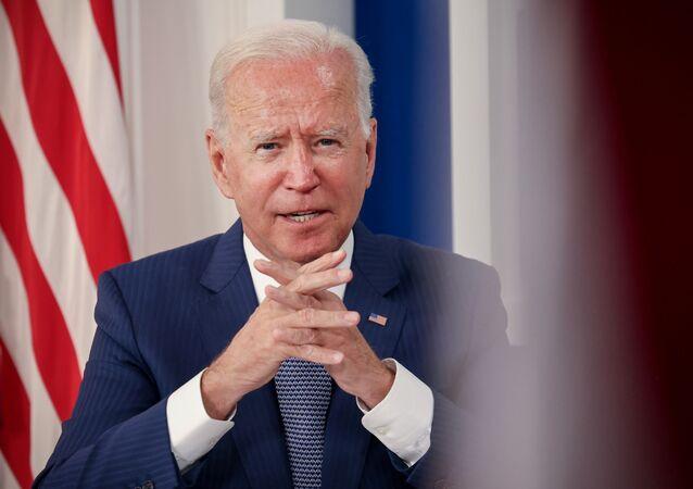 الرئيس الأمريكي جو بايدن، واشنطن، الولايات المتحدة الأمريكية 22 سبتمبر 2021