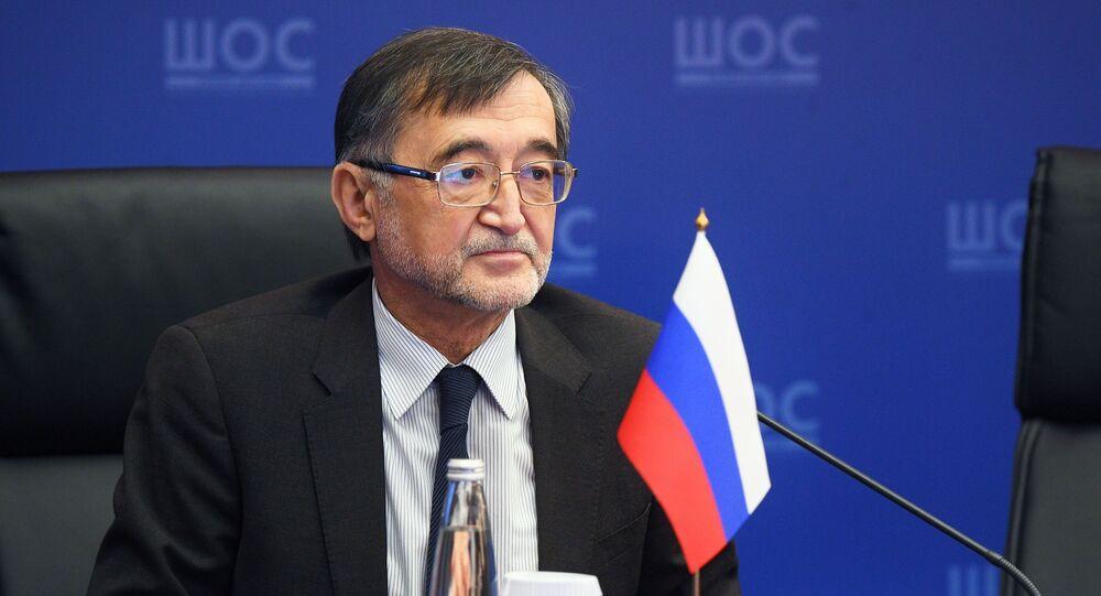 المبعوث الخاص للرئيس الروسي لشؤون منظمة شنغهاي للتعاون، بختيار حكيموف