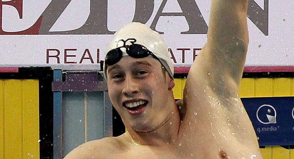 بطل السباحة التونسي، وسيم اللومي