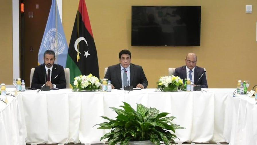 رئيس المجلس الرئاسي الليبي محمد المنفي