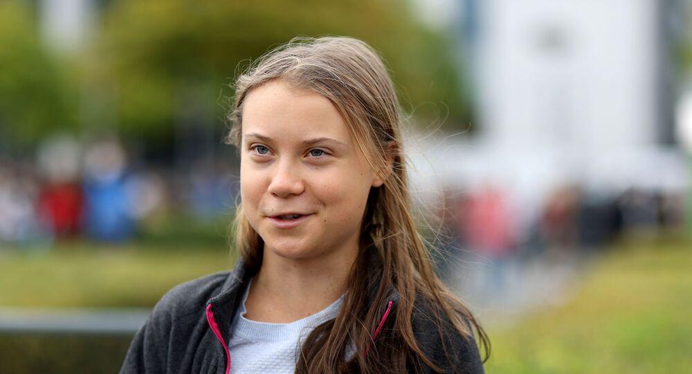 الناشطة البيئة السويدية، غريتا تونبرغ