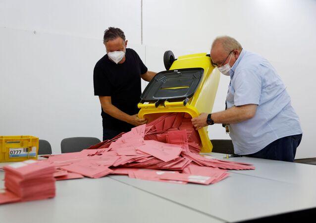 مؤشرات أولية للانتخابات الألمانية
