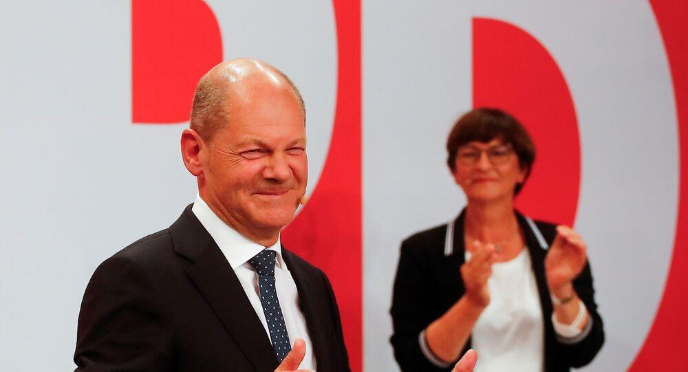 فوز الحزب الاشتراكي الديمقراطي في ألمانيا