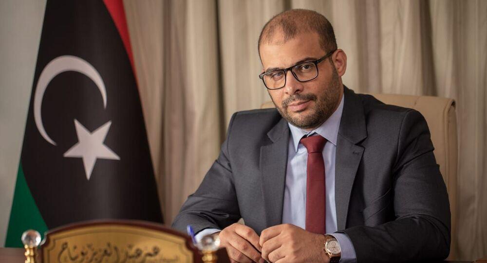 عمر عبد العزيز بوشاح النائب الثاني لرئيس مجلس الدولة الليبي