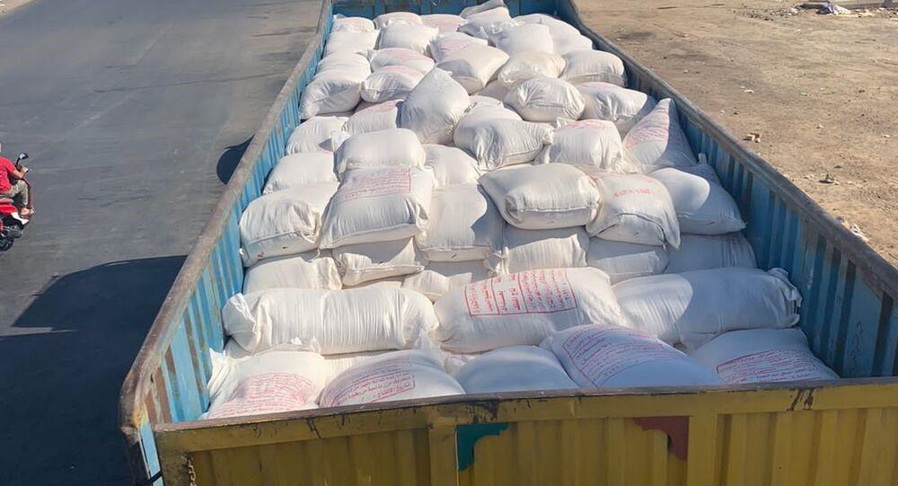 ضبط أكثر نحو ألف كيس من المادة الأساسية في طعام العراقيين معدة للتهريب