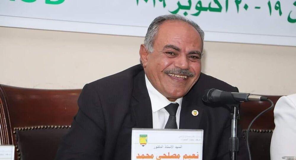 الدكتور نعيم مصيلحي مستشار وزير الزراعة المصري للاستصلاح الزراعي والتوسع الأفقي