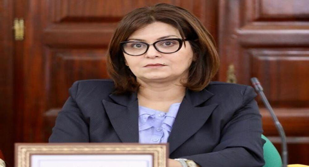 أمال الورتتالني النائبة بالبرلمان المجمد والقيادية في حزب قلب تونس