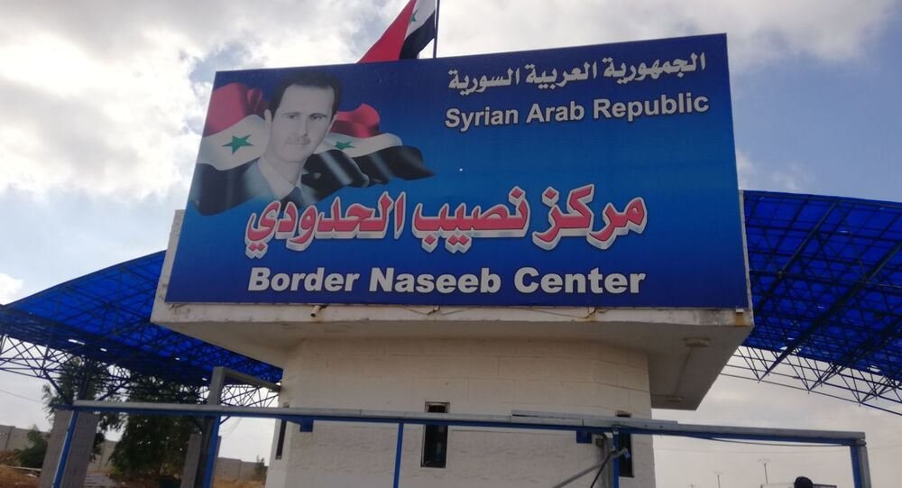 استئناف العمل رسميا في معبر نصيب - جابر السوري الأردني