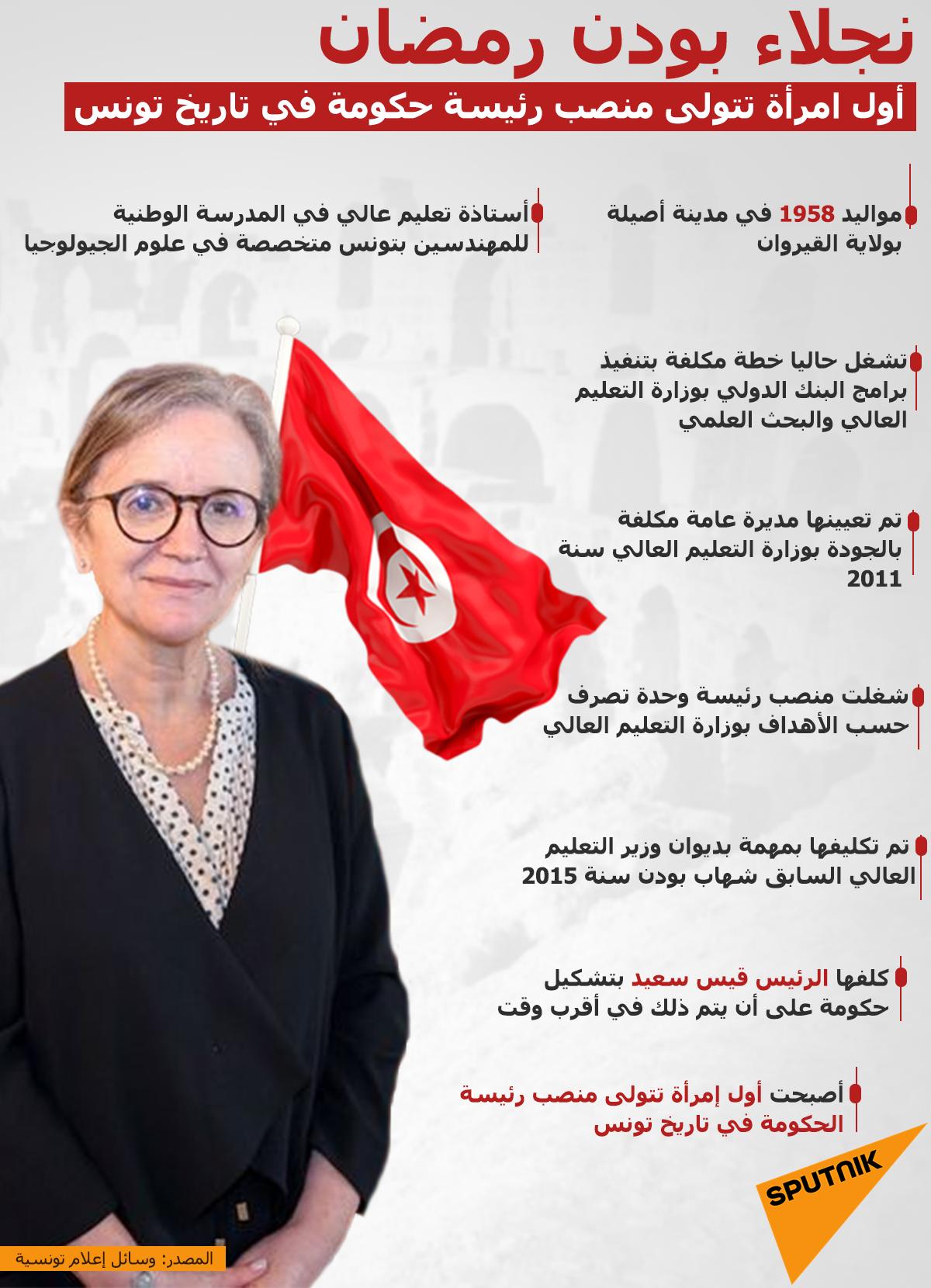 نجلاء بودن رمضان... أول امرأة تتولى منصب رئيسة الحكومة في تاريخ تونس