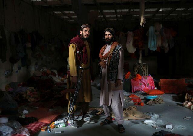 عناصر حركة طالبان في بروان، أفغانستان 23 سبتمبر 2021