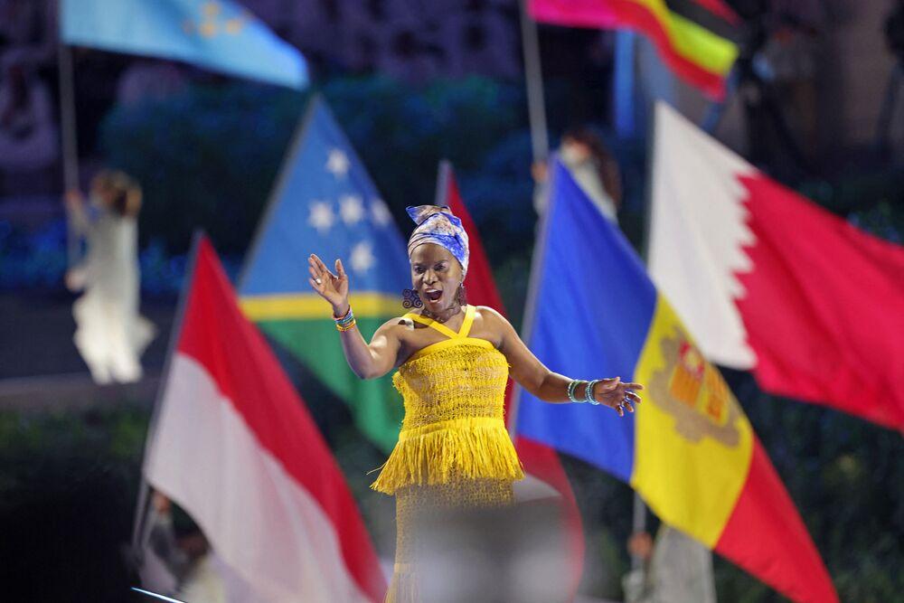 افتتاح معرض إكسبو 2020 دبي في دبي، الإمارات العربية المتحدة، 30 سبتمبر 2021