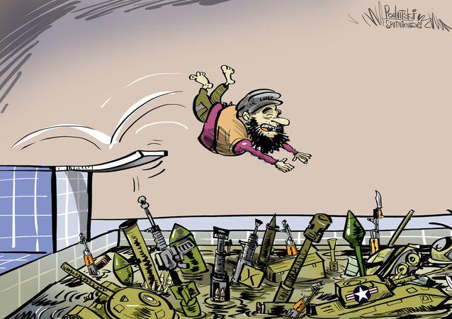 محيط من السلاح في أفغانستان