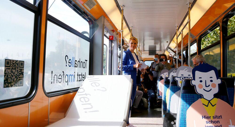 حافلة في سويسرا