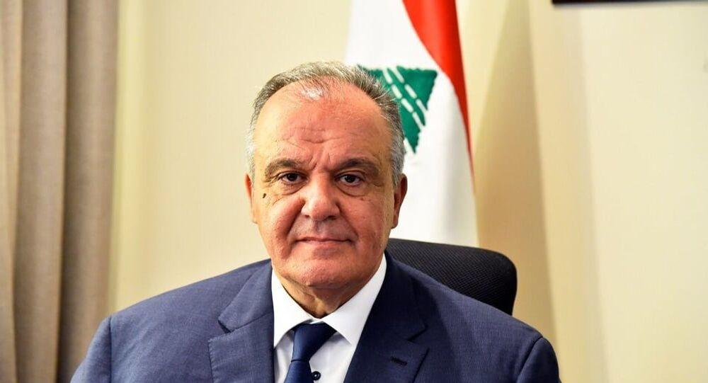 وزير الصناعة اللبناني، جورج بوشكيان