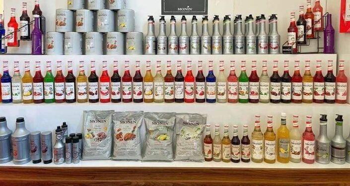 منتجات القهوة داخل المعرض الدولي للقهوة في ليبيا