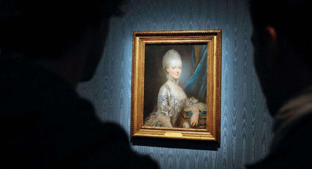 لوحة للملكة الفرنسية، ماري أنطوانيت