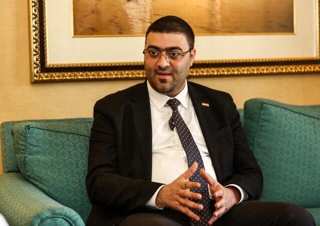 الدكتور علي المؤيد رئيس الجهاز التنفيذي لهيئة الإعلام والاتصالات بالعراق