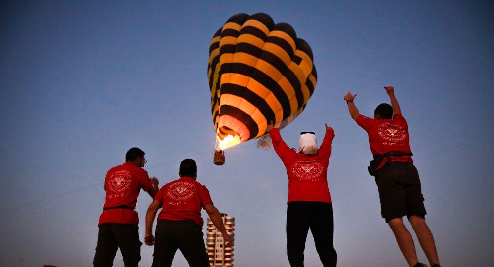 مهرجان الطيران الشراعي يزين سماء سوريا لأول مرة منذ 11 عاماً