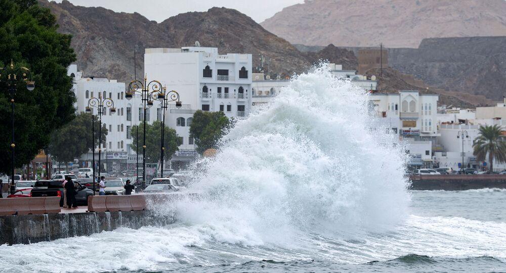 إعصار شاهين في سلطنة عمان