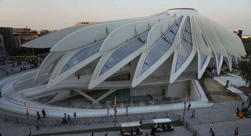 معرض إكسبو 2020 دبي في دبي، الإمارات العربية المتحدة 1 أكتوبر 2021