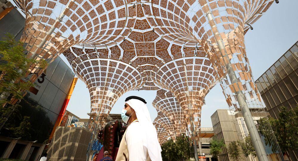 معرض إكسبو 2020 دبي في دبي، الإمارات العربية المتحدة 2 أكتوبر 2021