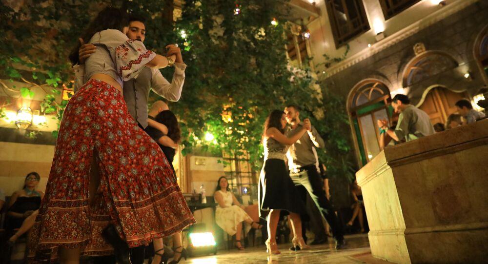 مهرجان التانغو في دمشق، سوريا 3 أكتوبر 2021
