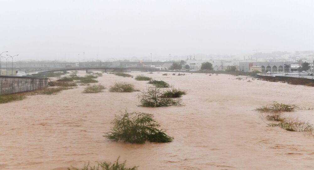 إعصار شاهين يضرب مدينة مسقط، سلطنة عمان 3 أكتوبر 2021