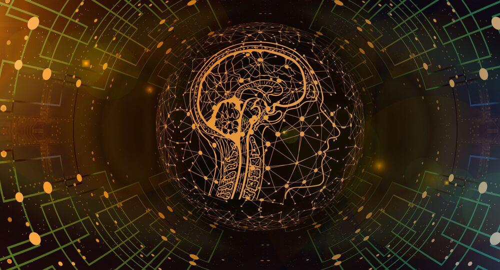 صورة تعبيرية لدمج الدماغ مع الخلايا الإلكترونية