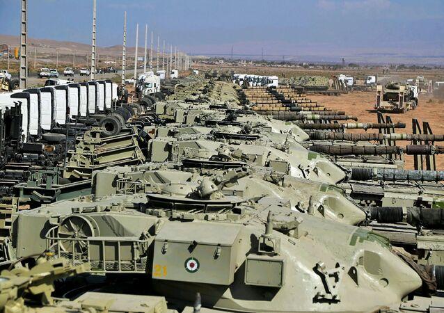 مناورات الجيش الإيراني فاتحو خيبر  في شمال إيران، 1 أكتوبر 2021