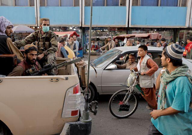 مدينة كابول، أفغانستان 4 أكتوبر 2021