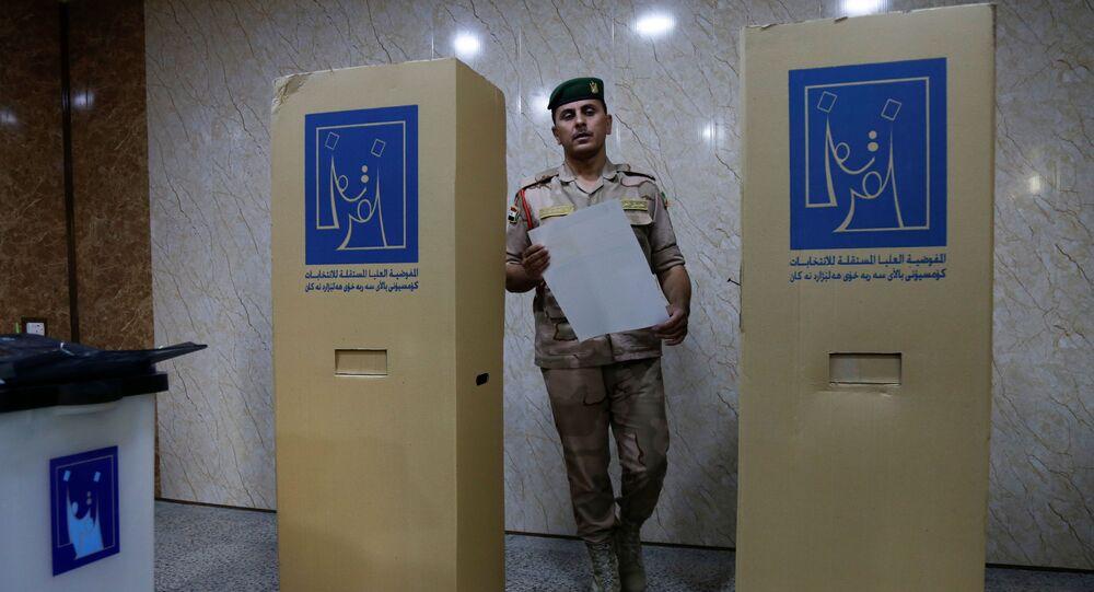 الانتخابات العراقية في الموصل ، العراق 8 أكتوبر 2021