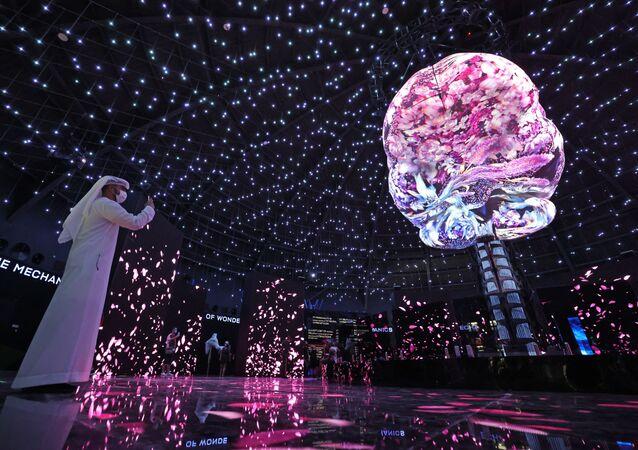 جناح روسيا في معرض إكسبو 2020 دبي في دبي، الإمارات العربية المتحدة 5 أكتوبر 2021