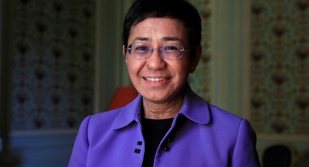 الصحفية الفيليبينية ماريا ريسا