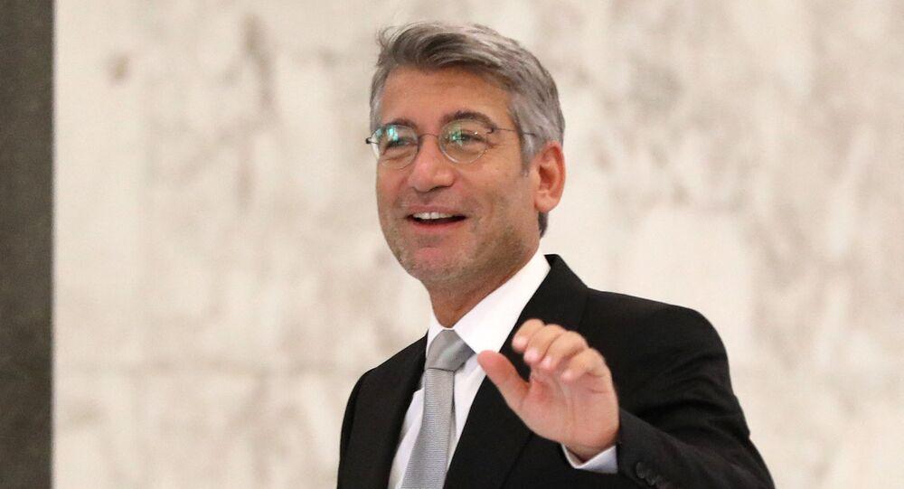 وزير الطاقة والمياه اللبناني وليد فياض