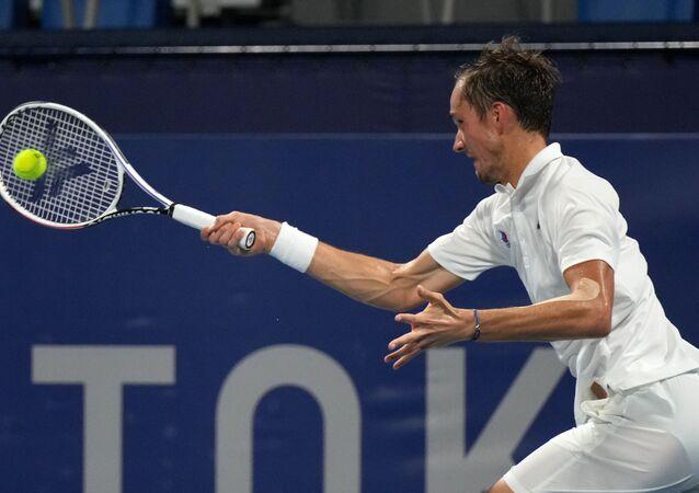 لاعب التنس الروسي دانييل ميدفيديف