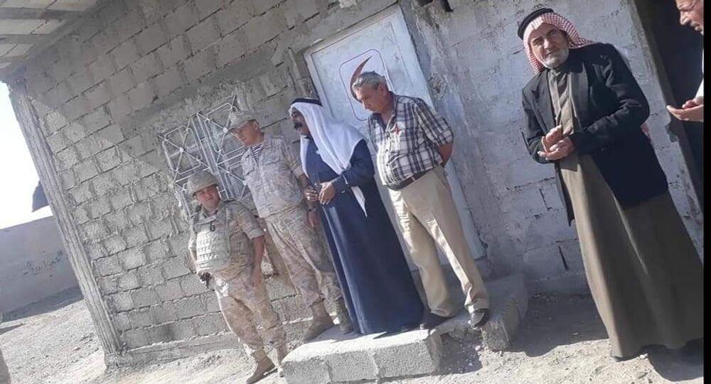 نقطة طبية روسية للحالات الإنسانية الوافدة من مناطق سيطرة الجيش الامريكي شرقي سوريا