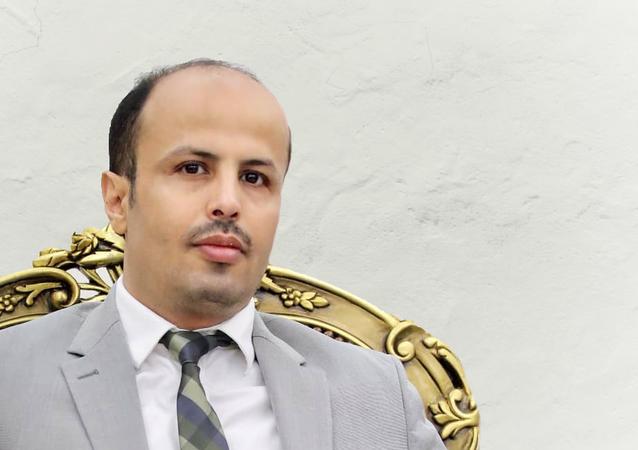 أحمد عرمان، وزير الشؤون القانونية وحقوق الإنسان في الحكومة اليمنية المعترف بها دوليا