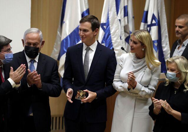 جاريد كوشنر وإيفانكا ترامب يزوران الكنيست الإسرائيلي، 11 أكتوبر/ تشرين الأول 2021