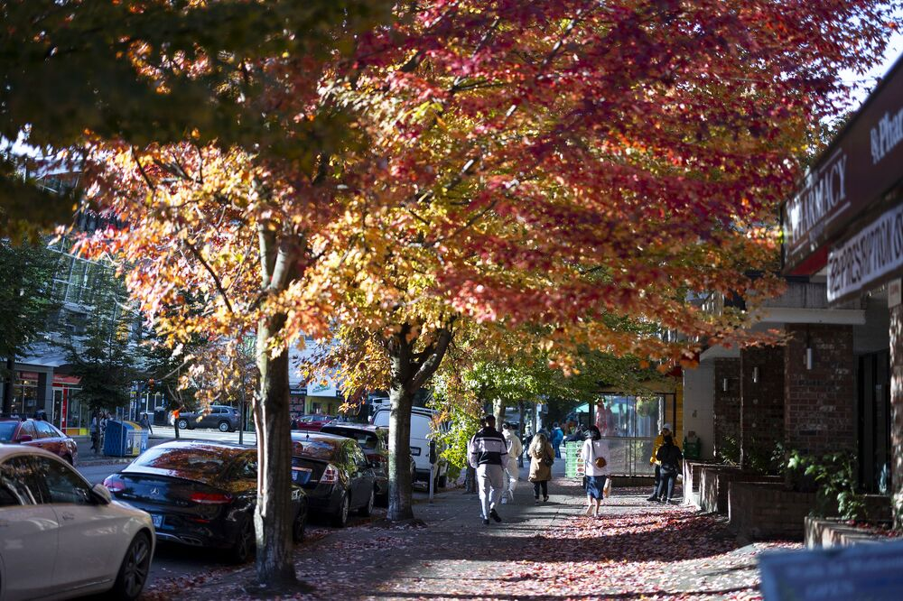 الخريف في كندا