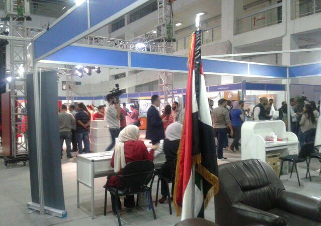 معرض تكنوتكس 2021 للإلكترونيات الخدمية والترفيهية والصناعية وأنظمة الحماية وأمن المعلومات في سوريا بمشاركة 30 شركة