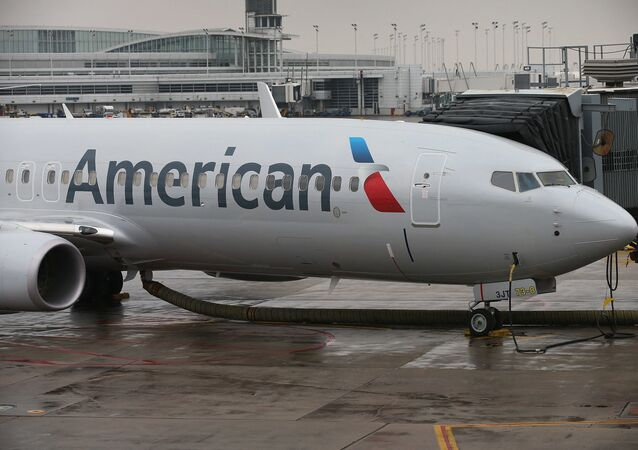 طائرة ركاب تابعة لـأميريكان إيرلاينز