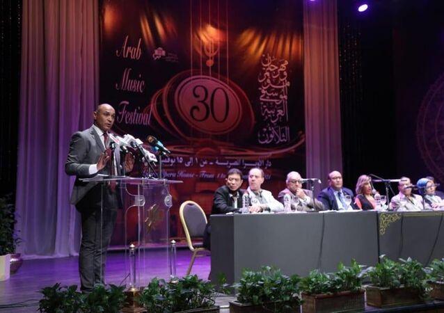 المتحدث باسم وزارة الثقافة المصرية، محمد منير