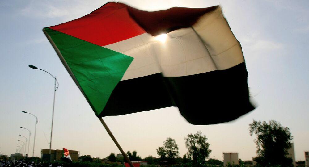 العلم السوداني